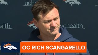 OC Rich Scangarello: Joe Flacco is a 'perfect fit' for Broncos offense