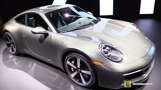 2020 Porsche 911 Carrera S 992 - Exterior And Interior Walkaround - Debut At 2018 La Auto Sh