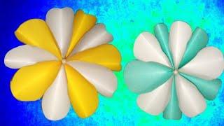 Easy paper Flowers/ flower making/ DIY