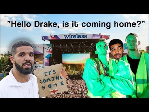 Sneaking Backstage At Wireless Festival To Ask Drake If It's Coming Home