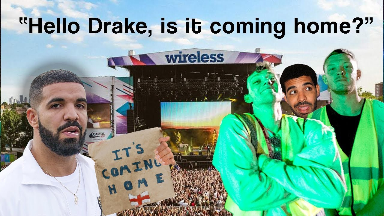 Sneaking Backstage At Wireless Festival To Ask Drake If It S Coming Home