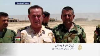 خندق بكردستان العراق يربط الحدود السورية بالإيرانية