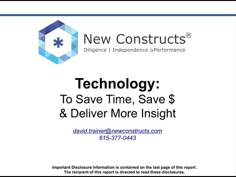 Investment Analyst Recruiting Webinar for New Constructs