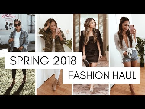 Spring 2018 Try-On Haul