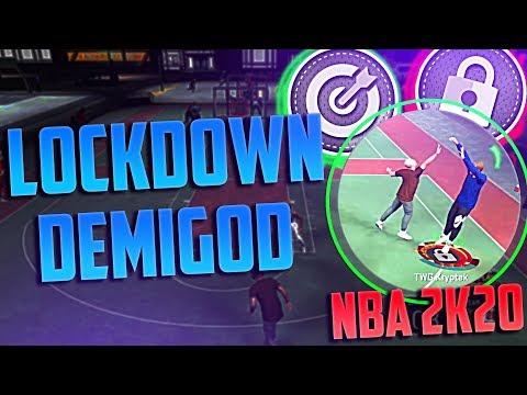 My Shooting Lockdown Is A DEMIGOD on NBA 2K20! Best Build 2K20! Best Shooting Lockdown! Pro 3