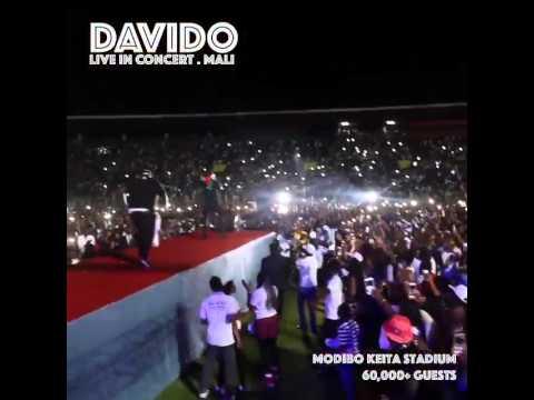 Video: Davido's Live Performance In Mali