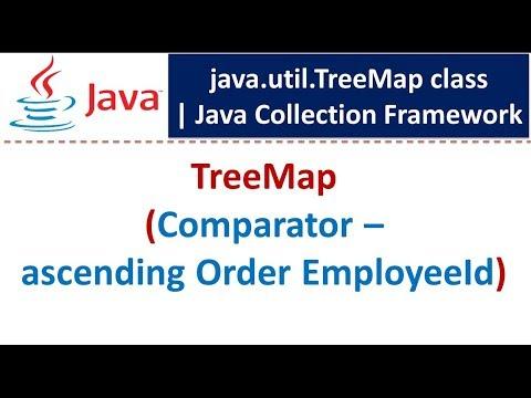 Java : Collection Framework : TreeMap (Comparator - Asc Order EmployeeId)