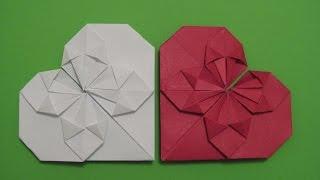 СЕРДЕЧКО - Закладка из Бумаги для Книги Своими Руками(В этом видео Вы увидите, как как просто и легко сделать оригинальную закладку - сердечко из бумаги в стиле..., 2015-12-28T22:32:47.000Z)