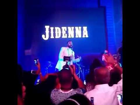 Jidenna Energetic Performance at the Hard Rock Cafe, Nigeria