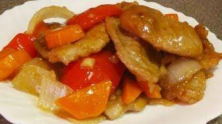 Обалденно вкусный БЫСТРЫЙ УЖИН за 10 минут. Как приготовить ГОБАОЖОУ дома. Китайская кухня