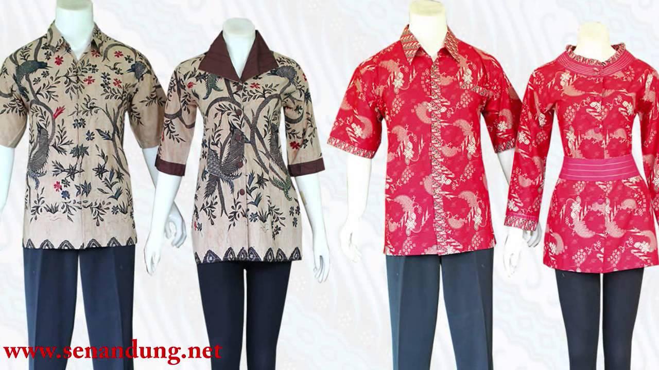 Baju Batik Modern Wanita Pria Sarimbit Pekalongan Solo