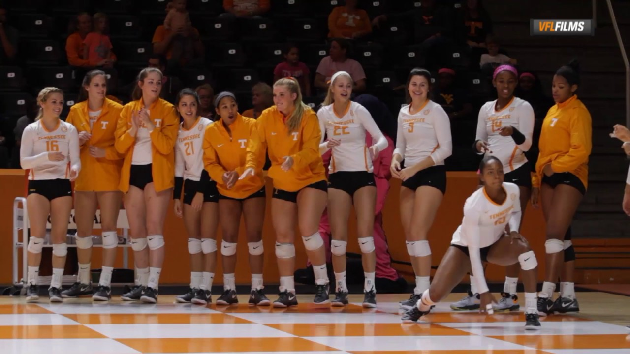 2016 Tennessee Volleyball Bench Youtube