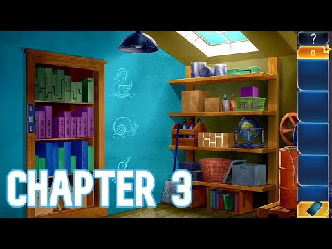 Escape Games - Spy Agent Playthrough Chapter 3  (The Hideout)  