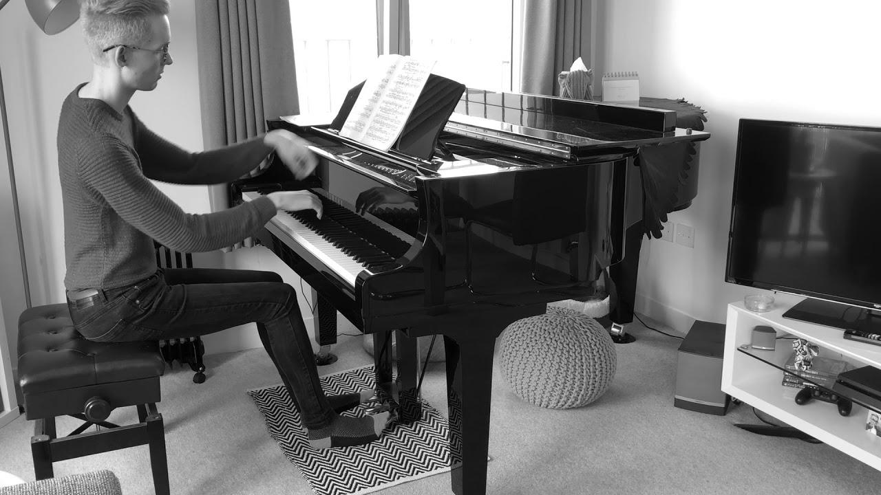 KMS Piano tutor Lewis K performs Brahms Intermezzo Op. 118 No. 2