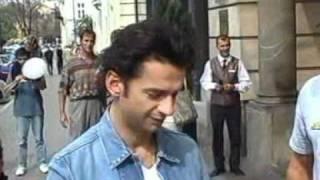 Dave Gahan in Warsaw 9 years ago - Hotel Bristol - 01.09.2001 - full video