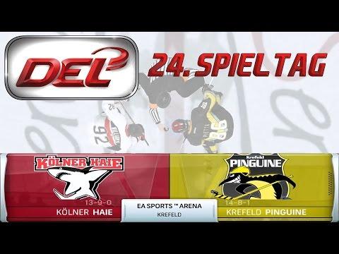 Deutsche Eishockey Liga [DEL][60fps][Deutsch] #024 - Krefeld Pinguine - Kölner Haie ★ NHL 16