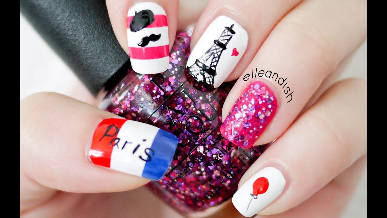 Paris Nails Ease Do Not Repeat My Reversed Flag Mistake