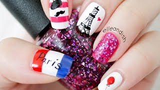 ❤ Paris Nails  (...please DO NOT repeat my reversed flag mistake) ❤