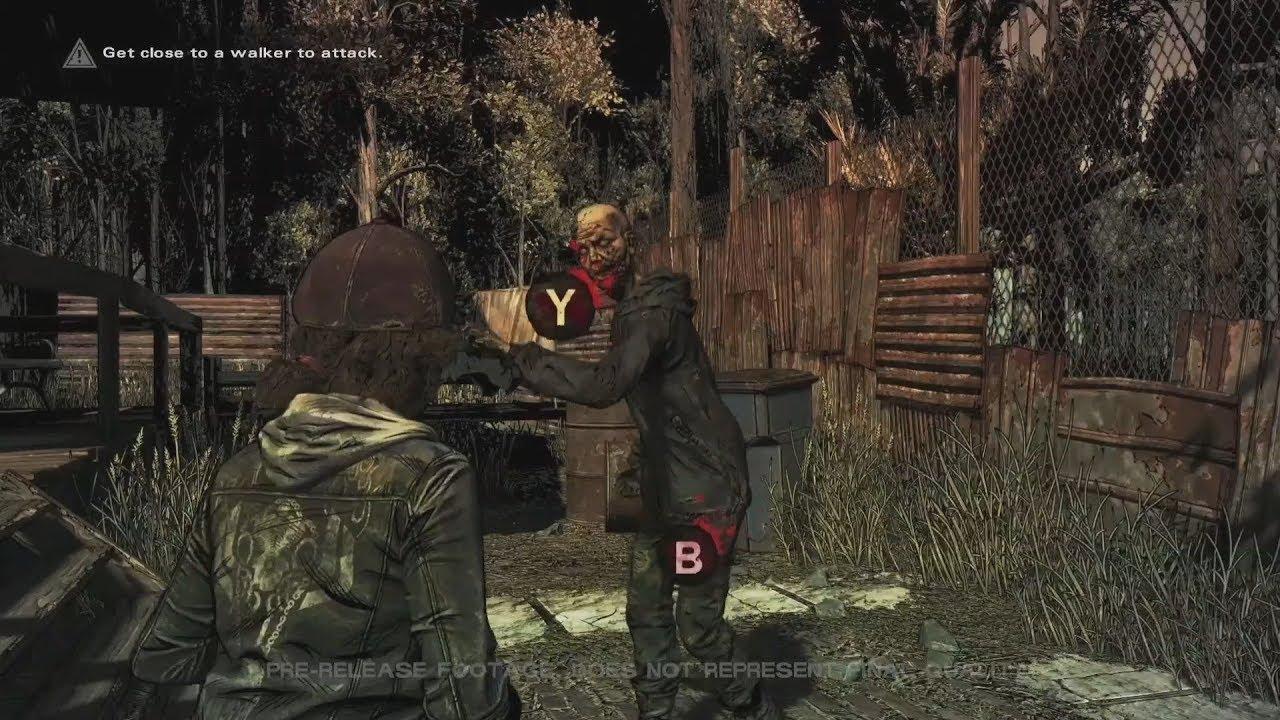 Act.] Primer vistazo en vídeo a The Walking Dead: The Final Season ...