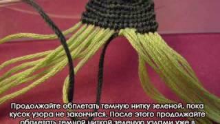 Как плести фенечки прямым плетением - How to Make an Alpha Bracelet(Это видео поможет вам освоить прямое плетение. http://fene4ki.ru/ Hope this tutorial helps you understand how to make alpha bracelets. English subtitles..., 2009-06-21T12:41:39.000Z)