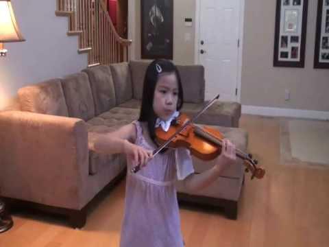 Jocelyn violin-月亮代表我的心 The moon Represents My Heart