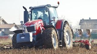 THE RED BULL - Massey Ferguson 8737 + Pentavomere Pietro Moro | Hard Conditions