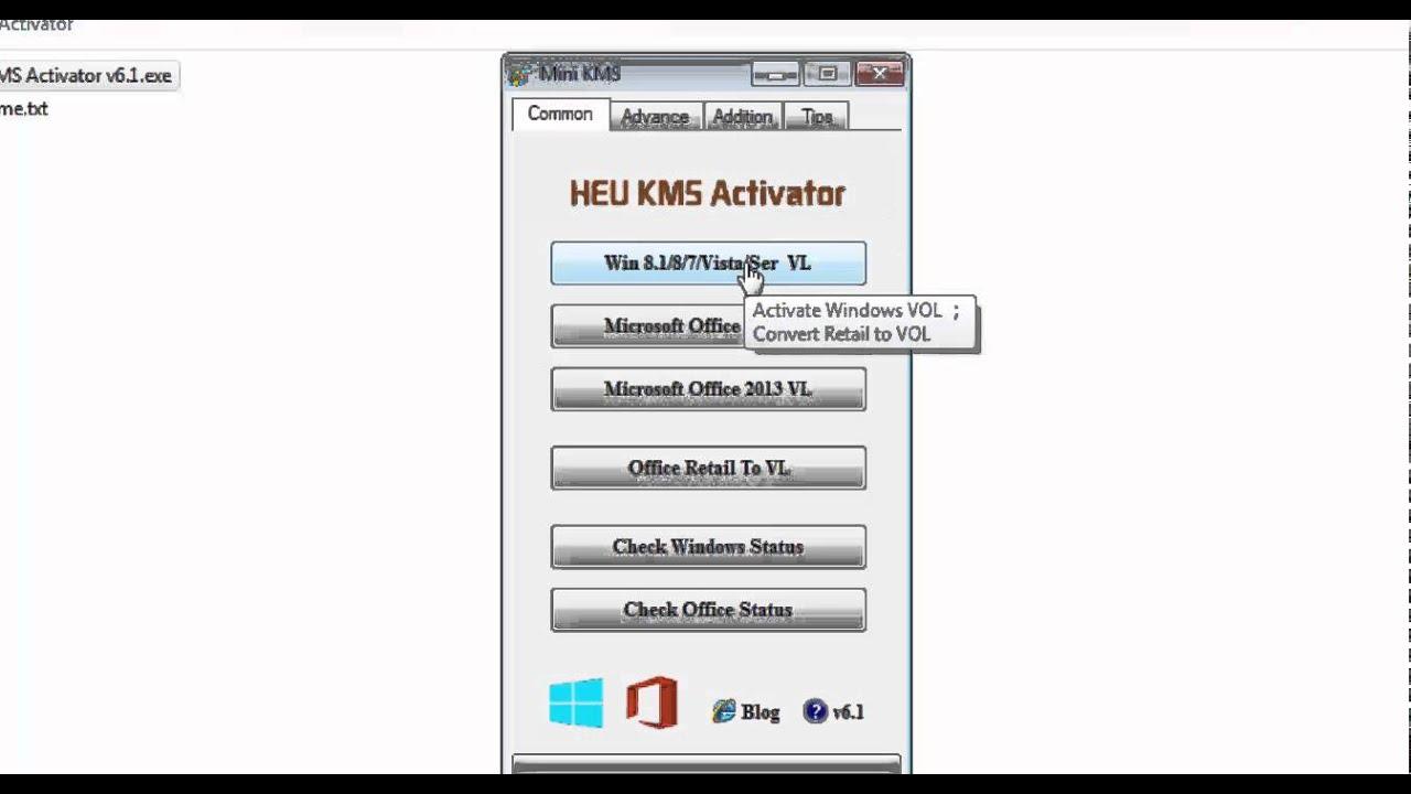 mini-kms activator office 2010 vl