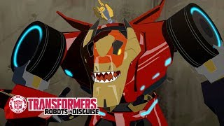 'Four Against One' Official Clip Transformers Robots in Disguise Season 1