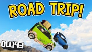 PANTO ROAD TRIP! Olli43 vs Geo23 - Episode 10 (GTA 5 Funny Moments)