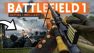 Playing BATTLEFIELD 1 in 2019 😎 When Sniping Was BRILLIANT!