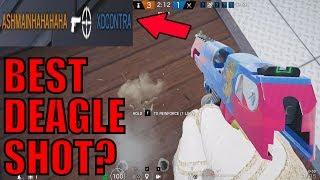 My BEST DEAGLE SHOT?! - Rainbow Six Siege Gameplay