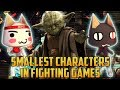 The Smallest Characters in Fighting Games