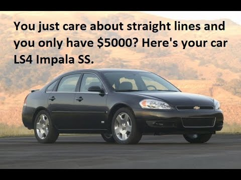 LS4 Impala SS go fast in a straight line $5000 Muscle Car Honda Civic Destroyer