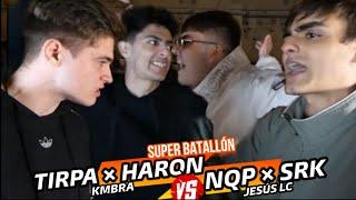 *EL FUTURO DE ESPAÑA* TIRPA y HARON vs NQP y SRK | *SUPERBATALLON LOCURA* | Exhibición YouTube Videos