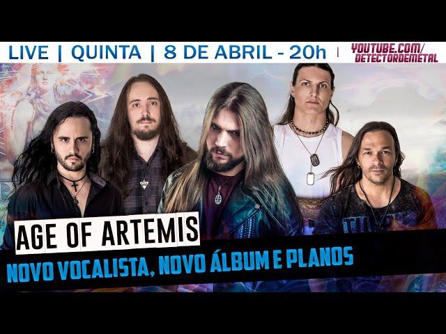 Age of Artemis | Nova formação, novo vocalista e novo álbum | LIVE #1