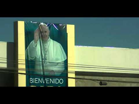 Pope visits Mexico-US border city on last day of tour