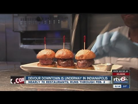 Hungry Hoosiers Get A Taste Of Fine Dining During Devour Downtown