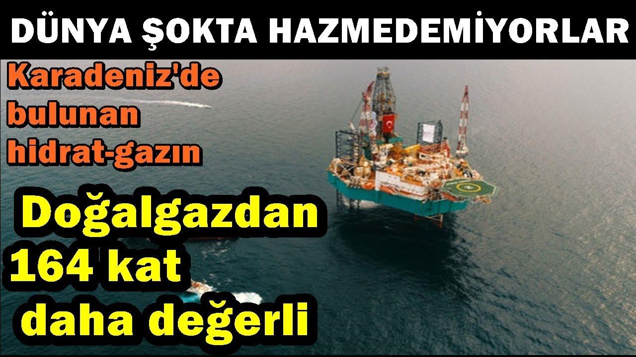 Dünya Çıldırıyor! Türkiye'nin Bulduğu Hidrat Gaz Doğalgazdan 164 Kat Daha Değerli!