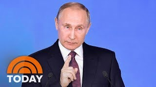 Vladimir Putin Boasts About Russia's New Nuclear Weapons | TODAY