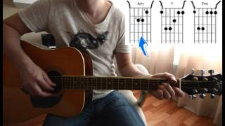 Guitar chords: Мумий Тролль - Дельфины (аккорды)