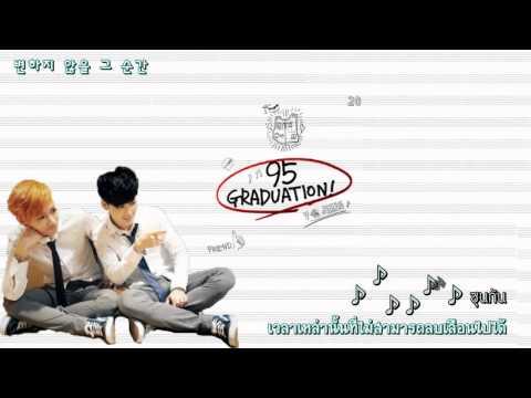 [Karaoke+Thaisub] 95 graduation (졸업송 Pt.2) - Jimin & V