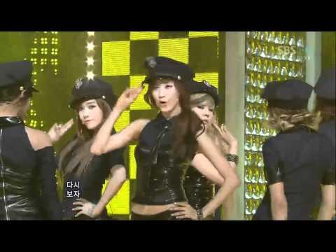 [SBS] 인기가요 소녀시대(Girls Generation) - Mr. Taxi