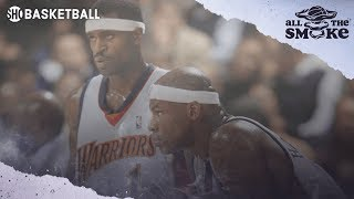 Al Harrington Reveals What Happened During 2006 Shootout Involving His Pacers Team | ALL THE SMOKE