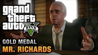 GTA 5 - Mission #40 - Mr. Richards [100% Gold Medal Walkthrough]