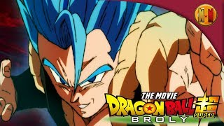 Gogeta blue released footage! Broly movie trailer #5 reaction