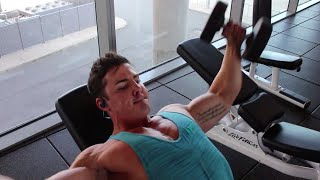 Chest Workout with Setanta Carroll Terminal 1 Training Session