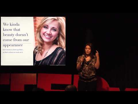 Beauty and how we&39;re obsessed with the wrong idea: Christina Gressianu at TEDxFoCo