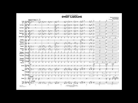 Sweet Caroline by Neil Diamond/arr. by Rick Stitzel