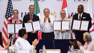 Cumbre de Alcaldes de América del Norte, desde Cabo San Lucas, Baja California Sur