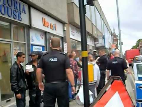 West Bromwich high street post arrest
